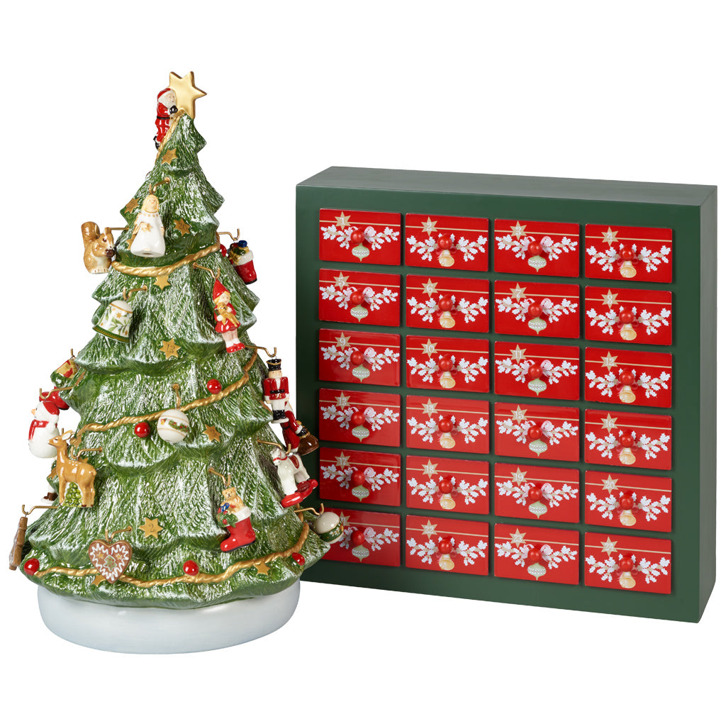 Christmas Toys Memories - Advent Calendar 3D tree