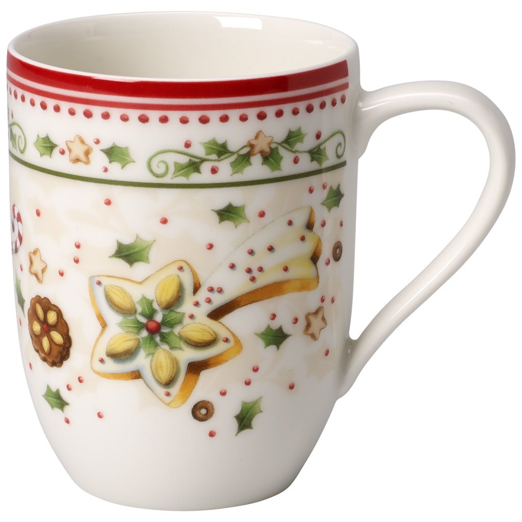 Winter Bakery Delight Mug, falling star