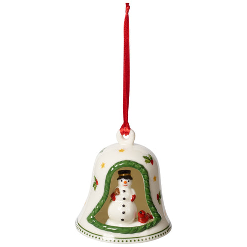 My Christmas Tree - Ornament Bell with snowman