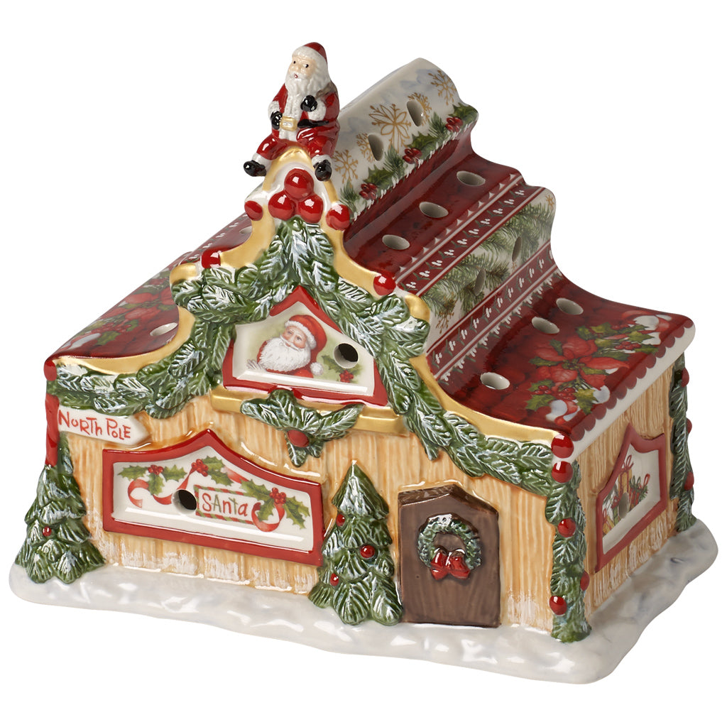 North Pole Express House of Santa 18x10x16.5 cm