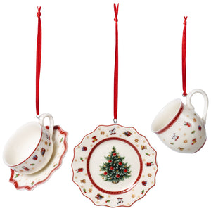 Toy's Delight Decoration Ornaments Tableware set 3pcs. 6,3cm