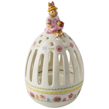 Load image into Gallery viewer, Bunny Tales Tea light holder egg 16cm