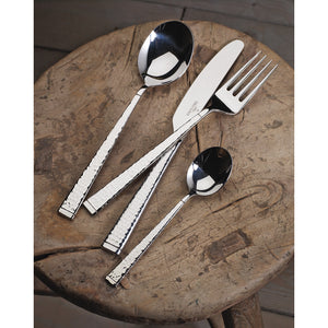 Blacksmith cutlery set 6  person on 30 pieces