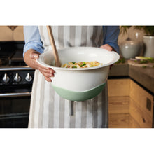 Load image into Gallery viewer, Clever Cooking Strainer/serv.bowl green 29cm
