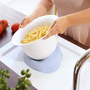 Clever Cooking Strainer/serv.bowl blue 29cm