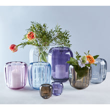 Load image into Gallery viewer, Colored Delight Hurricane Lamp/Large Vase. Gentle Lilac 17.5cm