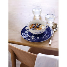 Load image into Gallery viewer, Old Luxembourg Brindille blue breakfast plate 22cm 6 pieces