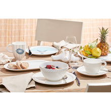 Load image into Gallery viewer, Montauk Beachside dinner set 6  person on 16 pieces