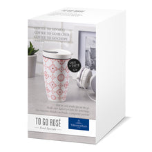 Load image into Gallery viewer, To Go Rose coffee to go mug 0,35L