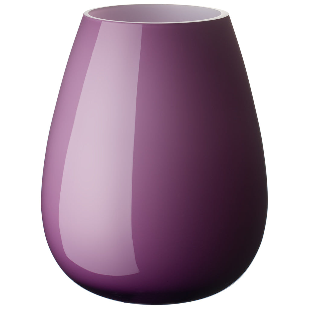Drop large vase Dark Lilac 23cm