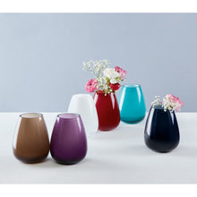 Load image into Gallery viewer, Drop mini vase Caribbean Sea 12cm