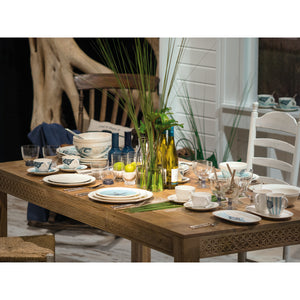 Montauk Beachside dinner set 6  person on 16 pieces