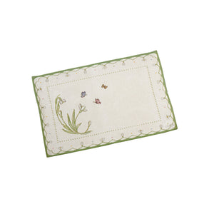 Colourful Spring Gobelin Placemat Snowdrop 32x48cm 6 pieces