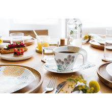 Load image into Gallery viewer, Flow Couture breakfast cup with saucer set 6 person