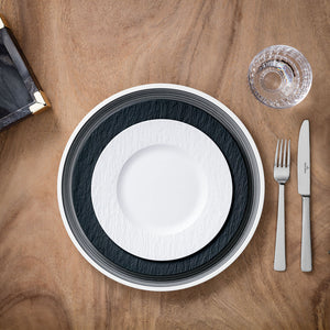 Manufacture Rock Blanc Dinner Set 6  person on 24 pieces