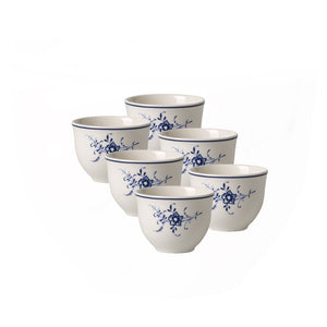 Old Luxembourg Arabic coffee/tea cup 0.08L 6 pieces