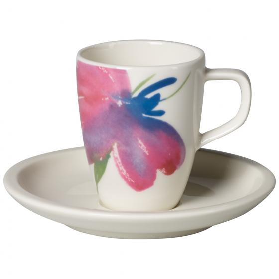 Artesano Flower Art espresso set 6 person