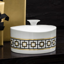 Load image into Gallery viewer, MetroChic Gifts porcelain box 0.8L