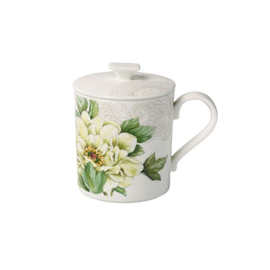 Quinsai Garden Gifts mug with lid 0.3L