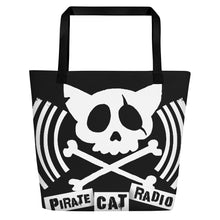 Load image into Gallery viewer, Pirate Cat Radio Beach Bag