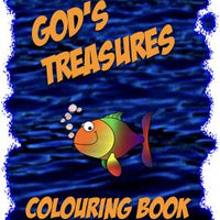 GOD'S TREASURES UNDER THE SEA | Colouring and Activity Book | Digital Download | CREATION CONNECTION