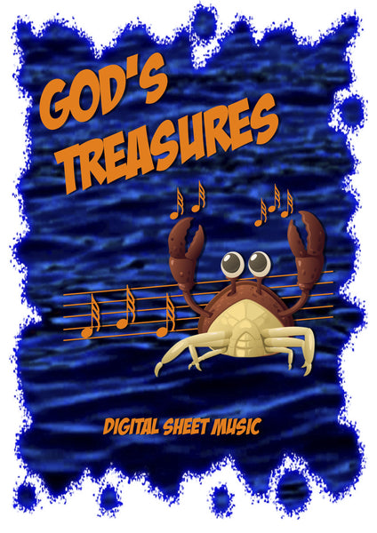GOD'S TREASURES UNDER THE SEA DIGITAL SHEET MUSIC COLLECTION | Under the Sea Songs for Kids | Easy Piano | Guitar Chords