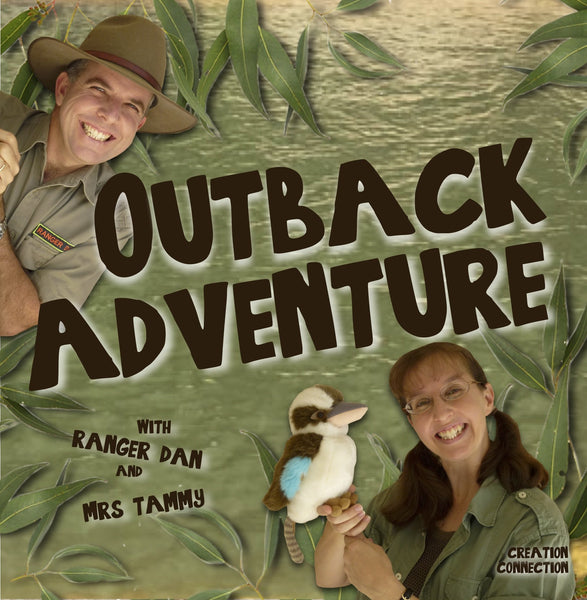 OUTBACK ADVENTURE ALBUM | A Musical Adventure to the Outback of Australia | Digital Download | Australian Animal Songs for Kids | Creation Connection