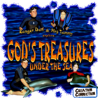 GOD'S TREASURES UNDER THE SEA ADVENTURE ALBUM | A Musical Submarine Adventure Under the Sea | Digital Download | Under the Sea Songs for Kids | Creation Connection