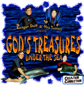 GOD'S TREASURES UNDER THE SEA ADVENTURE ALBUM | Backing Track | Digital Download | Under the Sea Songs for Kids | Creation Connection