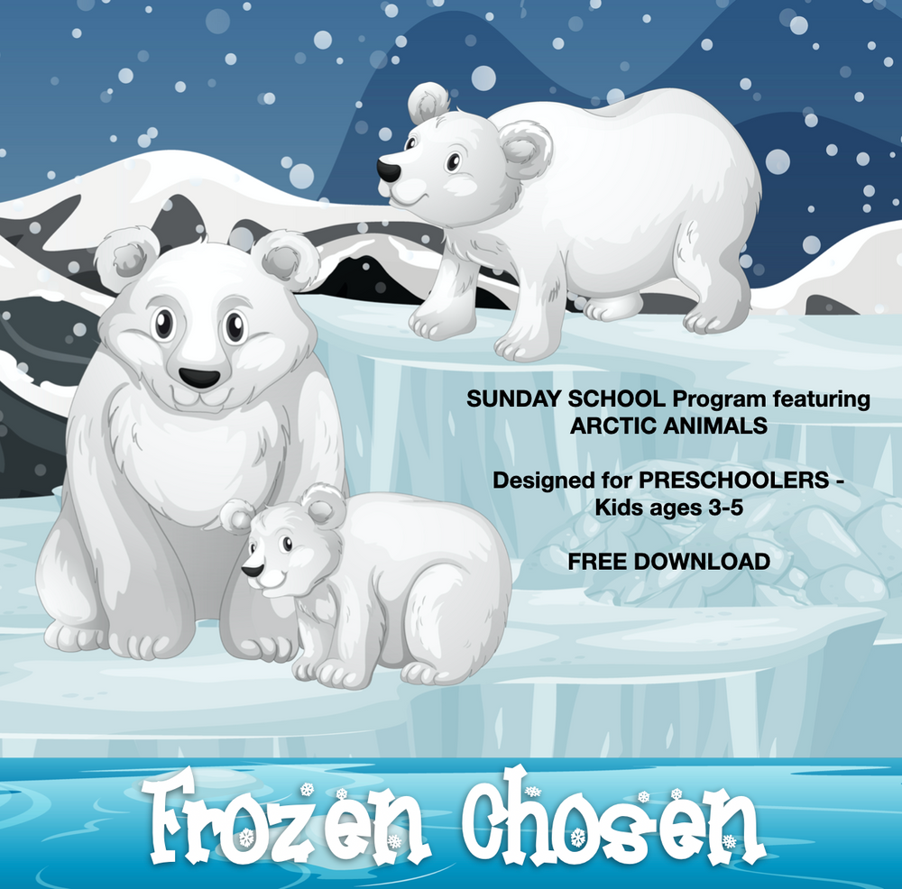 ARCTIC ANIMAL PRESCHOOL PROGRAM | SUNDAY SCHOOL | SABBATH SCHOOL | AGES 3-5