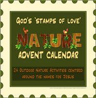GOD'S 'STAMPS OF LOVE' NATURE ADVENT CALENDAR | Digital Download | Creation Connection