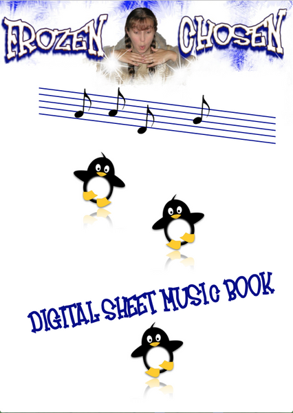 FROZEN CHOSEN DIGITAL SHEET MUSIC COLLECTION | Arctic Songs for Kids | Easy Piano | Guitar Chords