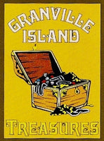 Granville Island Treasures Gift Card Available in Assorted Amounts. Purchase for online store or in person. Easy gift.