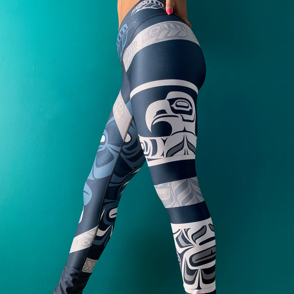 Haida Eagle Intuition - Full Length Legging
