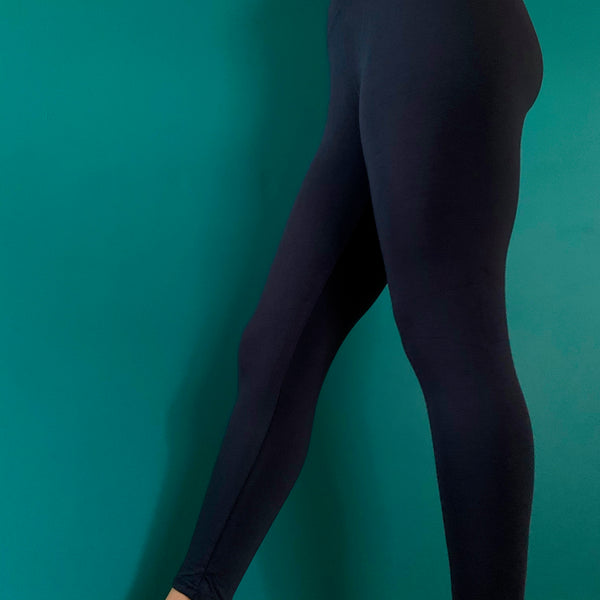 Bamboo Leggings - Crop
