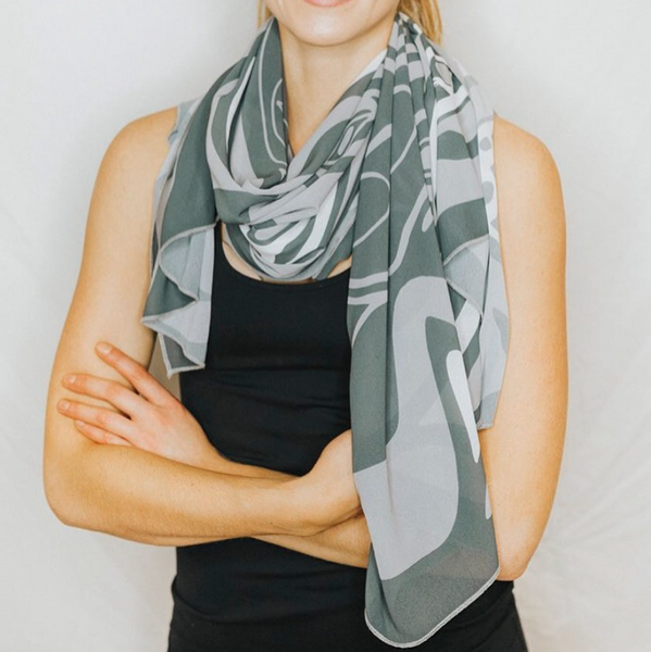 Warrior/Dragonfly - Scarf/Wrap