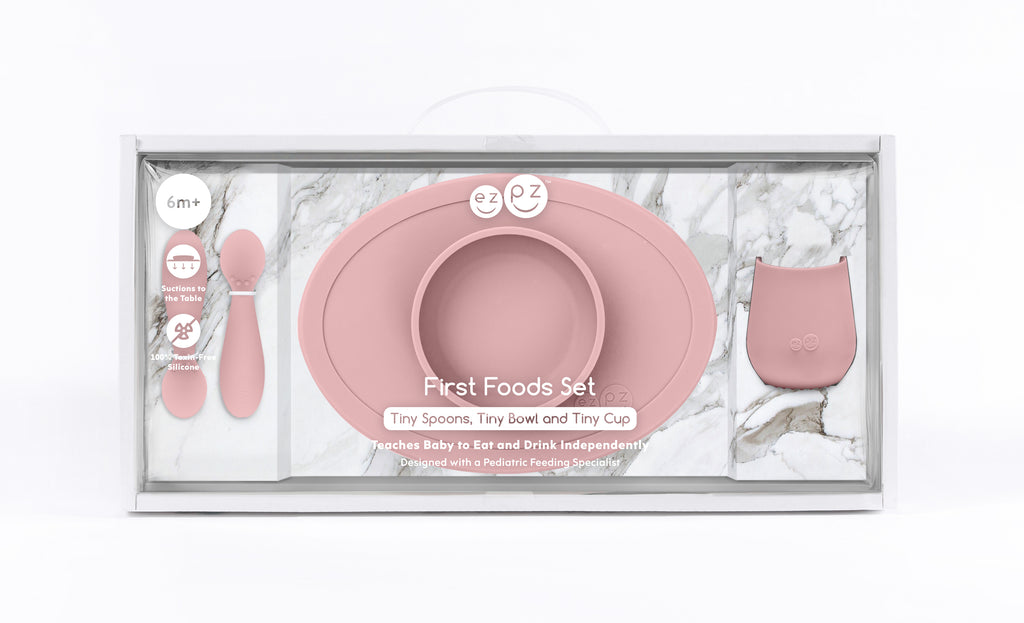 Vajilla First Foods Set Blush