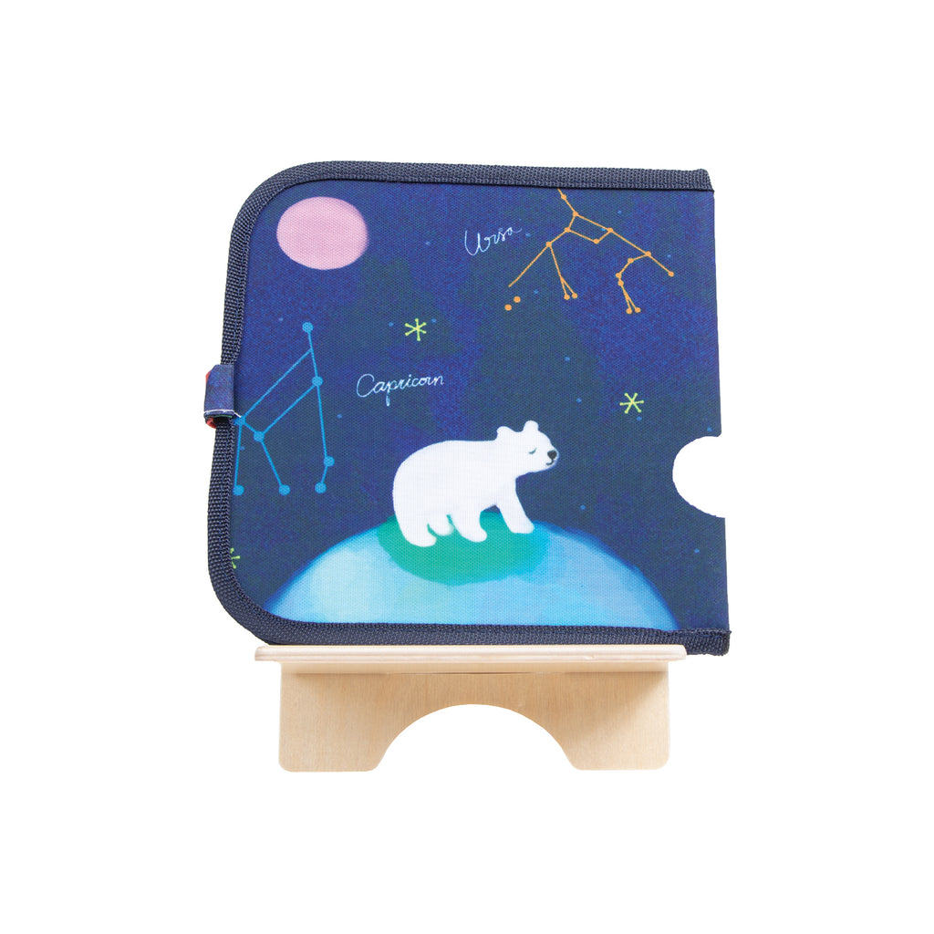 Libro de pizarra borrable Color It & Go Constellations