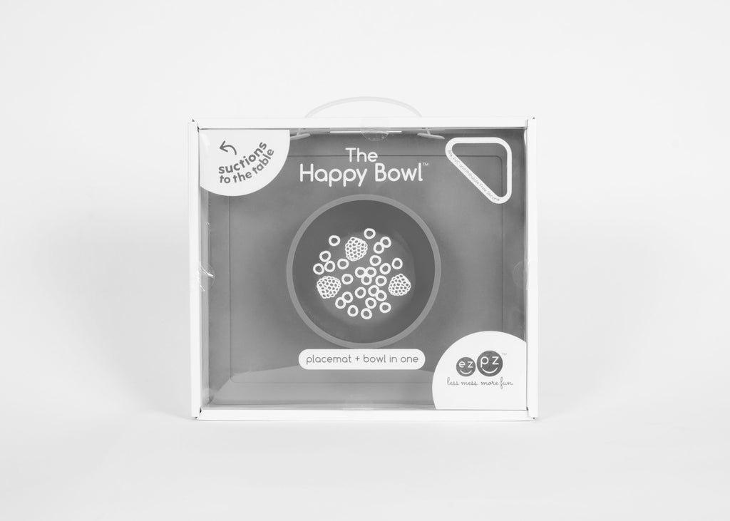 Individual + Plato Happy Bowl Gray