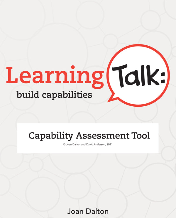 Learning Talk: build capabilities
