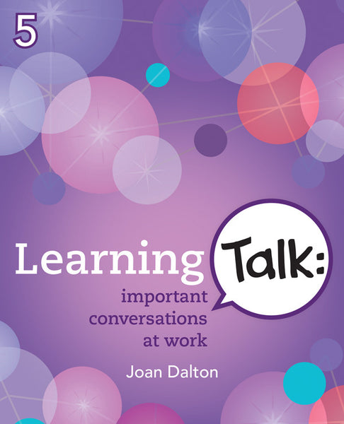 Learning Talk: important conversations at work - ebook