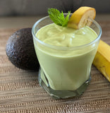 Avocado Banana Smoothie | 3 Ingredients