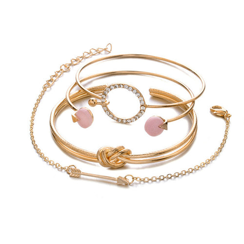 Multilayer Adjustable Bracelet Set