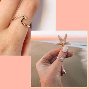 Wave Shape Ring