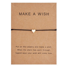 "Load image into Gallery viewer, ""Make a Wish"" Adjustable Charm Bracelet"