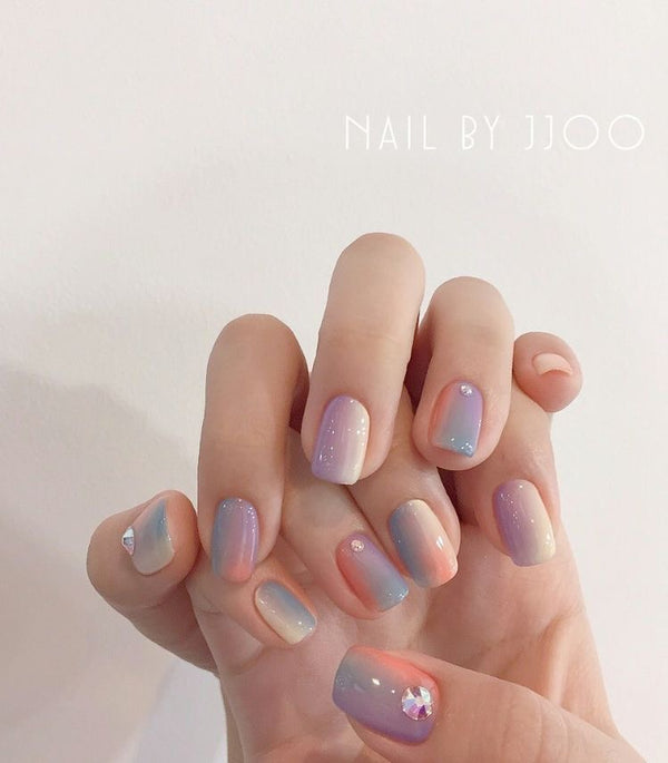 Five Ways to Try Stone Nails, the Most Mesmerizing Nail Trends in Korea
