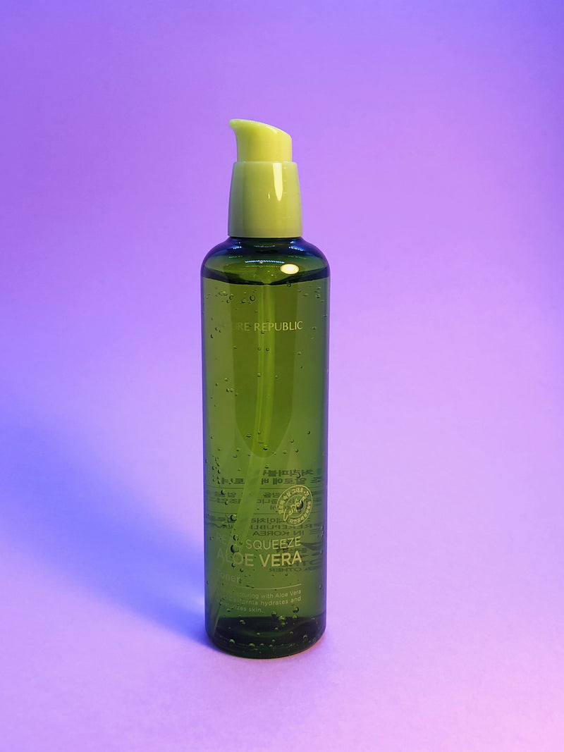 Nature Republic Real Squeeze Aloe Vera Toner - The Magic Glow Co