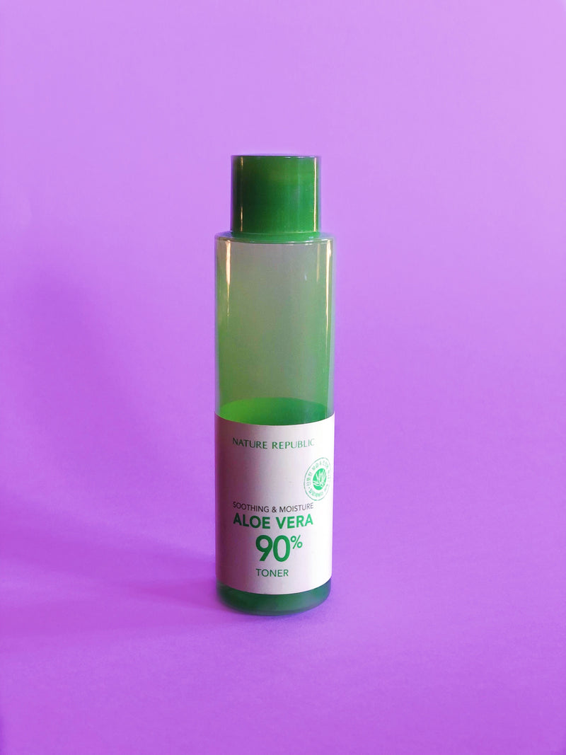 Nature Republic Soothing & Moisture Aloe Vera 90% Toner - The Magic Glow Co