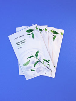 Nature Republic Real Nature Mask Sheet #Green Tea