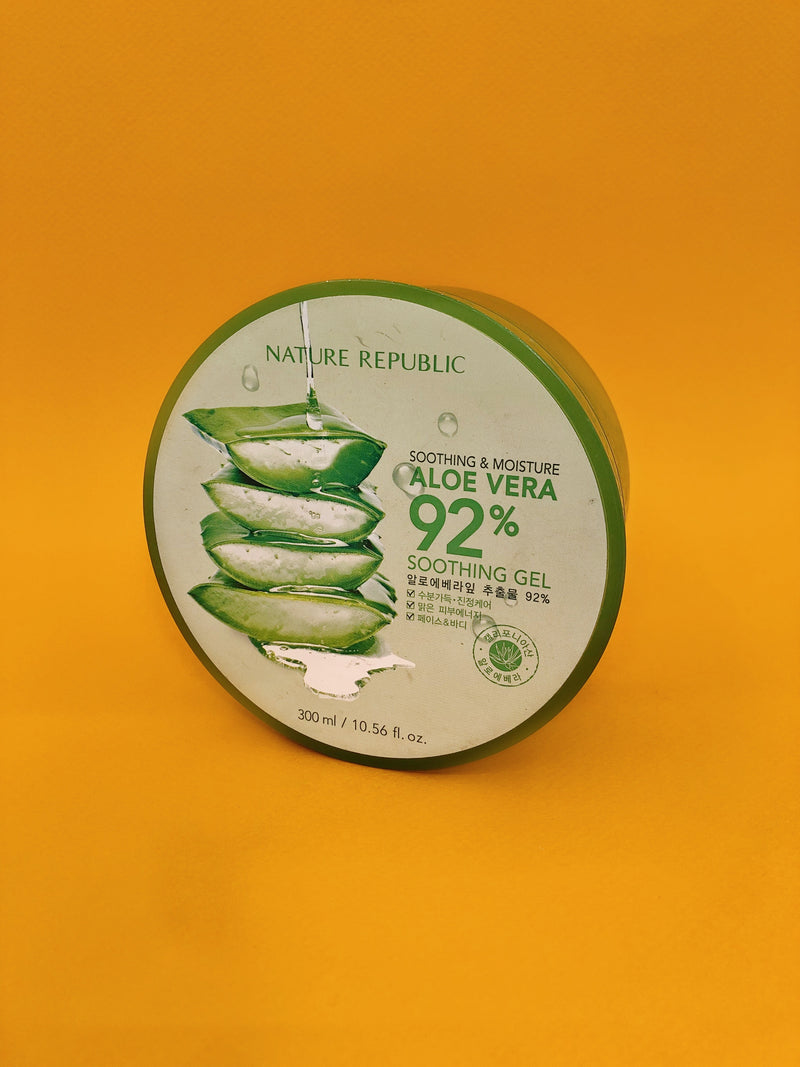 Nature Republic Soothing & Moisture Aloe Vera 92% Soothing Gel - The Magic Glow Co